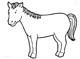 coloring sheets of a horse printable horses coloring pages