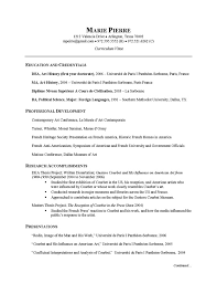 Resume And Cv Examples by Researcher Cv Example