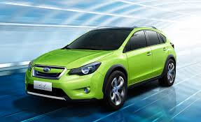 subaru crosstrek matte green subaru xv concept u0026ndash news u0026ndash car and driver