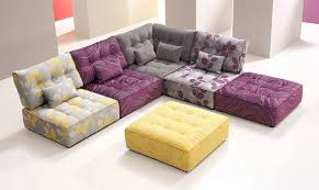 Modern Modular Sofas Excellent Modular Fabric Sofa Regarding Sectional Sofas
