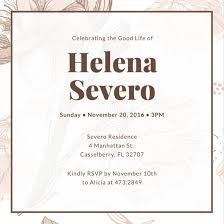 funeral invitation customize 38 funeral invitation templates online canva