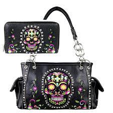 sugar skull handbags handbag ideas