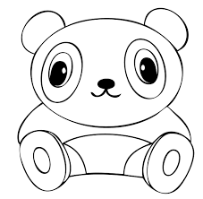cute baby panda coloring pages get coloring pages