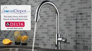 delta trinsic kitchen faucets youtube