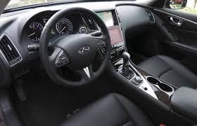 car review 2014 infiniti q50 driving