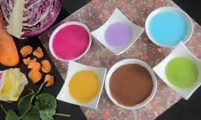 natural food colourings youtube