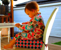 booster seat for bench table modern comfy diy booster seat prudent baby sewing tutorials