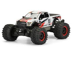 Ford Raptor Electric Truck - 2017 ford f 150 raptor body clear stampede by pro line