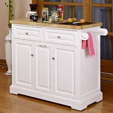 white kitchen cart island white kitchen cart with black granite insert at big lots really