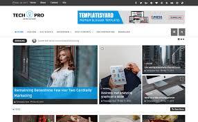 tech pro news magazine blogger template templatesyard free