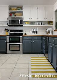 best cleaning solution for painted kitchen cabinets my painted kitchen cabinets five years later domestic