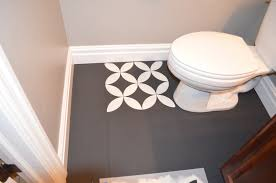 Tiling The Bathroom Floor - the who painted her tile what remington avenue