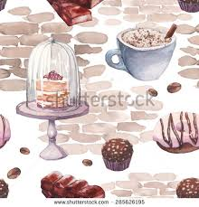 cafe pattern stock images royalty free images u0026 vectors