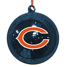 chicago bears ornaments