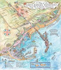 santa barbara california map santa barbara cruise ship visits