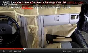 how to paint your car interior car interior painting tips how