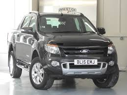 ford ranger 4x4 used panther black met with wildtrak leather ford ranger for sale