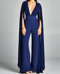 formal jumpsuit navy jumpsuit black jumpsuit jumpsuit with sleeves