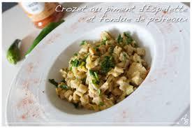 cuisiner les crozets crozets au piment d espelette et fondue de poireaux comme un risotto