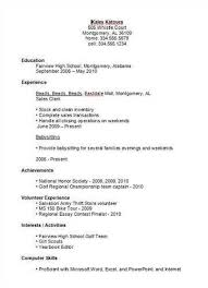 exles of high school resumes exles of resumes for high school students with no experience