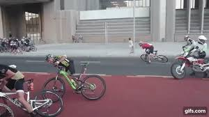 cycling wind wind so intense that these cyclists can t pedal into it boing boing