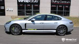 porsche chrome wrapstyle premium car wrap car foil dubai chrome car