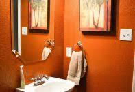 orange bathroom ideas burnt orangeoom set accessories uk camo decor decorative towels rug