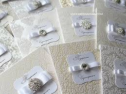 Making Wedding Invitations How To Make Embosed Invitation Ideas Flocked Wedding Invitations