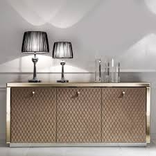 designer bronze mirrored glass sideboard dining rooms