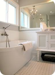 Clawfoot Tub Bathroom Design by 3 Fresh Inspirations For White Out Bathrooms Grey Bathrooms