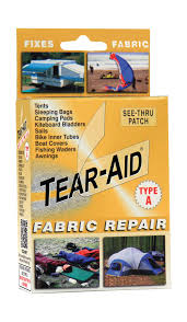 How To Repair Leather Chair Tear Tear Aid Fabric Repair Patch U0027s Sporting Goods