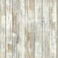 28 18 sq ft distressed wood peel and stick wall decor white