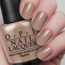 over the taupe nail lacquer opi