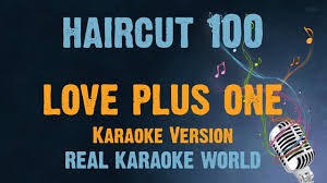 haircut 100 karaoke love plus one youtube