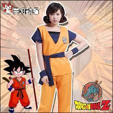 Dragon Ball Halloween Costumes Aliexpress Buy Halloween Party Dragon Ball Goku Cosplay