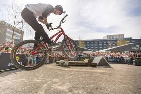 motocross pedal bike danny macaskill and co at world u0027s greatest cycle festival