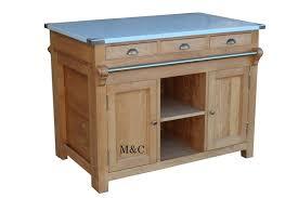 billot central de cuisine amazing meuble de cuisine blanc laque 10 ilot central en bois