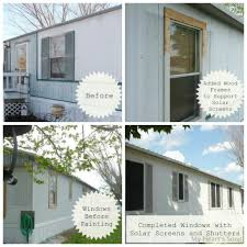 Exterior Mobile Home Makeover by Paint For Mobile Homes Exterior Modern Malibu Mobile Home Makeover