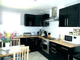meuble haut cuisine noir laqué meuble de cuisine noir laque meuble cuisine noir cuisine cuisine