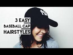 baseball hairstyles 3 easy short hair hairstyles for baseball caps hairstylesforall com