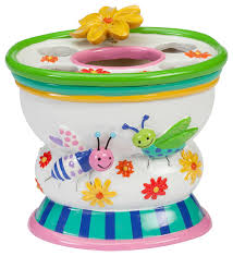 Kid Bathroom Accessories - cute as a bug toothbrush holder eclectic kids bathroom