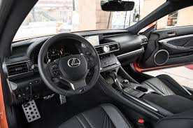 rcf lexus 2017 interior all new 2015 lexus rc f packs 467 horsepower and 63 325 starting