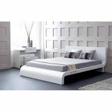 Contemporary Platform Bed Roma Modern Platform Bed