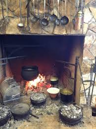 large open hearth cook fireplace google search medieval times