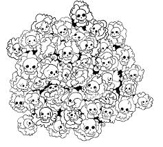 cluster skull by after the funeral on deviantart
