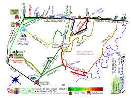 Buffalo Creek Trail Map Mineola Nature Preserve Mineola Tx