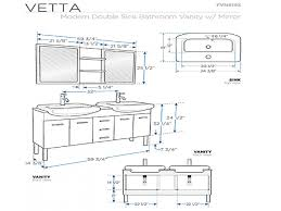 Standard Bathroom Vanity Dimensions Others Standard Counter Depth Countertop Depth Refrigerators