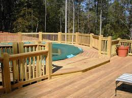 free above ground pool deck plans marissa kay home ideas cool