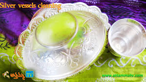 how to clean silver vessels to get shiny kitchen tips in telugu