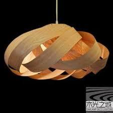 Wood Veneer Pendant Light Wood Veneer Pendant Light Shade Twist Wood Veneer Pendant
